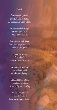 Gedicht, geschreven over familie die vertrekt naar het buitenland.
