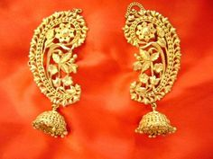 To Buy Bengali Jewellery in Kolkata? Them Gold jhumkis Kaan: Where To Buy Bengali Jewellery in KolkataThem Gold jhumkis Kaan: Where To Buy Bengali Jewellery in Kolkata Gold Jewellery Design, Gold Jewelry, Jewelry Accessories, Designer Jewellery, Filigree Jewelry, Quartz Jewelry, Bespoke Jewellery, Glass Jewelry, Jewelry Sets