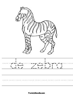 Mother And Baby Giraffe Coloring Page