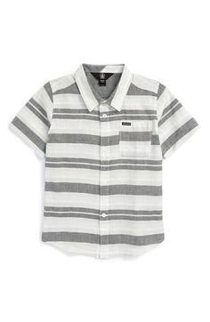 Volcom 'Camper' Stripe Shirt (Toddler Boys & Little Boys) available at…