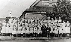 NHS nurses in 1948