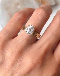 Thick Wedding Bands, Plain Gold Wedding Bands, Wedding Rings Sets Gold, Wedding Rings Simple, Wedding Ring Bands, Gold Rings, Thick Band Engagement Ring, Dream Engagement Rings, Solitaire Engagement