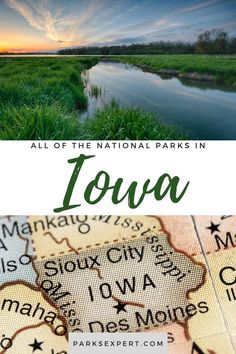 Did you know there are 2 national parks in Iowa? Click here for the list, including things to do and how to get to each of the Iowa national parks.