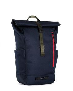 """A classic roll top that will take you from studying to cycling to late-night meetups, the Timbuck2 Tuck Pack is ready for anything. Its spacious interior with padded sleeve fits up to a 15"""" laptop, du"""