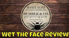 Bumble & Co Bee a Man Shaving Soap Man Shaving, Shaving Soap, Bee