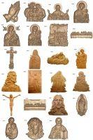 -Religioso modelo 3D Club - Art Dimensional para usuários CNC