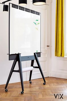 Apartment Office, Office Workspace, Office Decor, Diy Whiteboard, Mobile Whiteboard, Glass White Board, Library Inspiration, Magnetic White Board, House Layouts