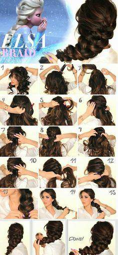 Tutoriais de penteados Mais
