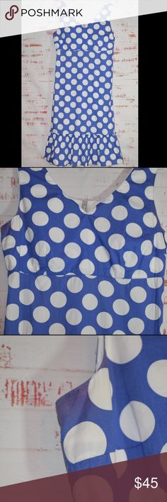 1356a1ed1f6c5 My Posh Picks · Hanna Andersson Polka Dot Ruffle Dress Hannah Andersson.  Size 12. VGUC due to minor