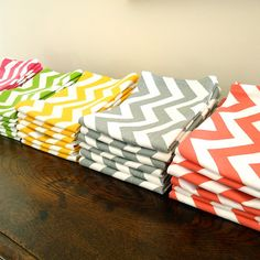decor inspir, tea towels, etsi, teas, chevron towels, teal chevron, hous, chevron kitchen decor, chevron tea