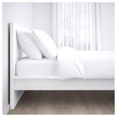IKEA MALM White, Luröy Bed Frame, High