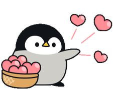 The perfect Penguins Penguin Love Animated GIF for your conversation. Discover and Share the best GIFs on Tenor. Penguin Drawing, Penguin Art, Penguin Love, Cute Penguins, Cute Anime Character, Cute Characters, Cartoon Gifs, Cute Cartoon, Pinguin Illustration