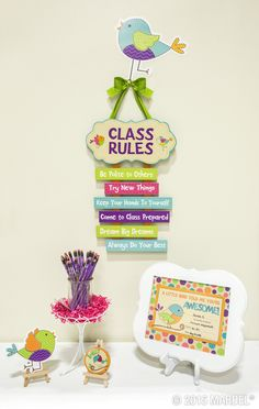 Bebop Birdie Classroom Décor – A little birdie told us you're in need of #classroom décor that's charming, colorful, and cheery… Look no further! Out exclusive Bebop Birdie collection features an enticing combination of patterns, colors, and textures for a look that's delightfully dynamic and diverse. Blending trendy burlap accents with classic whimsical designs, Bebop Birdie gives you the best of stylish décor with timeless vintage appeal. What a fine feathered friend!