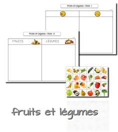 La maternelle de Laurène: Semaine du goût : les fruits et légumes