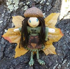 Autumn Fairy  theenchantedtree.blogspot.com