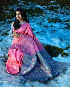 Designer Kanchipuram Sarees in Stunning Hues - Shop Now! Silk Saree Kanchipuram, Kanjivaram Sarees, Indian Silk Sarees, Soft Silk Sarees, Saree Blouse Neck Designs, Lehenga Designs, Saree Color Combinations, Silk Sarees With Price, Designer Sarees Online Shopping