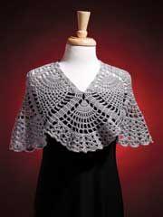 Pineapple Wrap Crochet Pattern
