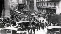 After the 1929 Wall Street crash