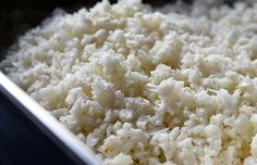 cauliflower rice and how  it can serve as a delicious, low carb alternative to rice when following  the extra easy SP plan.