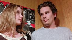Before Sunrise - Julie Delpy, Ethan Hawke. Julie Delpy, The Best Films, Great Movies, Series Movies, Film Movie, Tv Series, Movies Showing, Movies And Tv Shows, Before Sunrise Movie