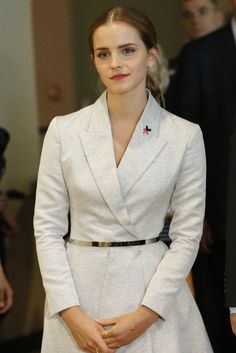 When she launched the HeForShe campaign at the UN because she's an amazingly intelligent woman on top of everything else. | 19 Times Emma Watson Made You Wish You Were Emma Watson