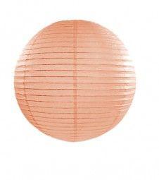Papierlampion - pfirsich - 25 cm