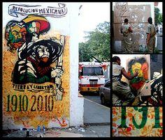 """Guerrilla Comunicacional Comando Creativo """"Revolución Mexicana"""""""