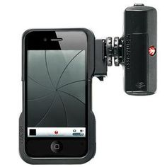 Manfrotto KLYP iPhone 4/4S Case with ML120 LED Light: Picture 1 regular