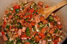 Gumbo | Seafood Gumbo00009 Gumbo Recipes, Seafood Gumbo, Pasta Salad, Chevy, Salsa, Cooking, Ethnic Recipes, Crab Pasta Salad, Kitchen