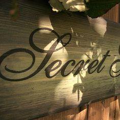 secret garden signs, the 109 best vintage solid wood garden signs images on pinterest, Design ideen
