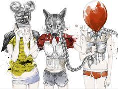 Les illustrations de Esra Roise !