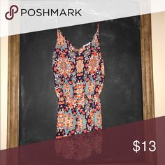 Plum printed Romper This summer lovin Romper is a must have for your wardrobe. The plum with the brightly colored pattern is splendid! Pants Jumpsuits & Rompers