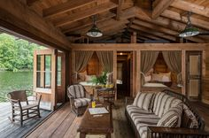 UPSTATE LAKE CAMP NEW YORK by Pearsons Design Group