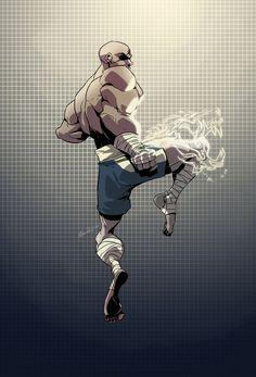 Sagat - Street Fighter - Dreviator.deviantart.com. Every time I see Sagat he is my motivation.