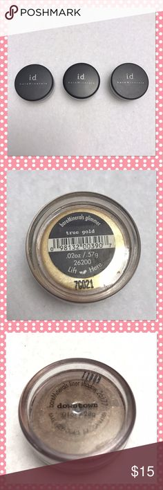 BareMinerals Eyeshadow!   BareMinerals Eyeshadow!  If you see specific items that you want, please don't hesitate to let me know. I'm happy to customize a bundle just for you! (Serious Buyers Only.)  (Bundle 3 listings & Save with my Discount!) bareMinerals Makeup Eyeshadow