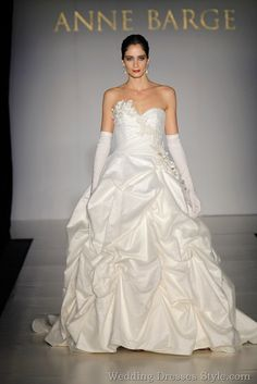 Anne Barge Sping 2011 Wedding Dress Collection: Strolling in the Cloud | Anne Barge | Wedding Dresses Style