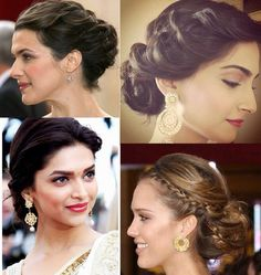 Beautiful hairstyles for the season