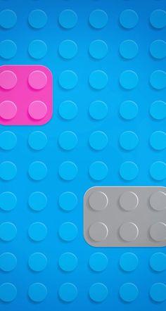Fondos iPhone Iphone Lockscreen Wallpaper, Cool Wallpaper, Mobile Wallpaper, Wallpaper Backgrounds, Phone Backgrounds, Lego Worlds, Blue Wallpapers, Lego Friends, Textures Patterns