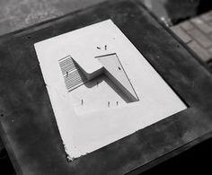 Proposta para o Museo Regional de Atacama / David Rodriguez Arquitectos + Combeau De Iruarrizaga Arquitectos Architecture Drawings, Concept Architecture, School Architecture, Interior Architecture, Conceptual Model Architecture, Architecture Model Making, Chinese Architecture, Classical Architecture, Ancient Architecture