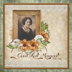 Grandma's Scrapbook Collection - A vintage collection, Grandma's Scrapbook is reminiscent of old paper scrapping, using materials that were at hand.  Great for scrapping about family, ancestors and new friends alike.