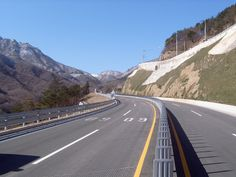 Misiryeong Penetrating Road, Korea | 미시령 관통도로