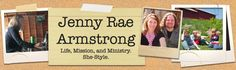 """Jenny Rae Armstrong: Christian writer, blogger, speaker, feminist, egalitarian. Article: """"John Piper, Women in Combat, and How Gender Roles Fall Short of the Glory of Humankind"""""""