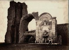 Fontana di Clemente XII a Porta Furba (Via Tuscolana)