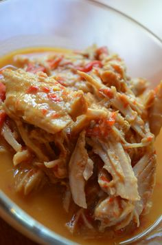 Crock Pot Thai Peanut Pork, But I make it with Cheeken !!! lol i love recipes that are versatile to swap out ingredients!