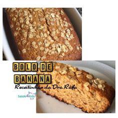 Bolo de Banana - adaptação da receita da Rita Lobo
