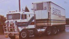photo by secret squirrel Secret Squirrel, Kenworth Trucks, How To Clean Metal, Vintage Trucks, Big Trucks, Transportation, Australia, Rigs, Vehicles