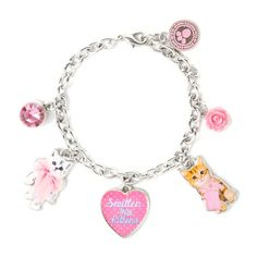 We're so smitten with kittens. Check out this Studio Pets Heart Charm Bracelet!