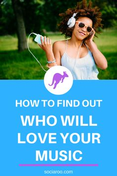 How To Find Out Who Will Love Your Music - sociaroo Indie Music, Music Music, Your Music, Twitter Tips, Instagram Tips, Musicians, How To Find Out, Label, Love You