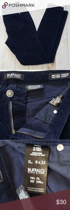 Buffalo David Britton Skinny Pants Buffalo David Britton Skinny Pant. Navy Blue, EUC. Suze 8. Midrise, slim fit. Stretch Buffalo David Bitton Pants Skinny