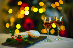 Well it is Christmas! Cornwall Hotels, Mince Pies, Luxury Spa, Just Relax, Fine Dining, White Wine, Wine Glass, Alcoholic Drinks, Champagne